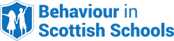 Behaviour In Scottish Scools Logo Blue
